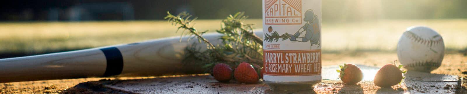 Darryl Strawberry & Rosemary Wheat Beer header