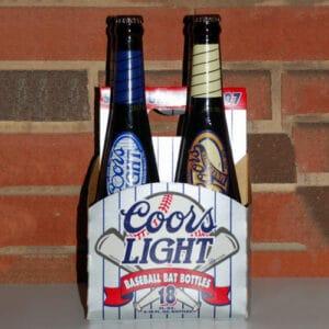 Coors Bat Bottle 4-Pack