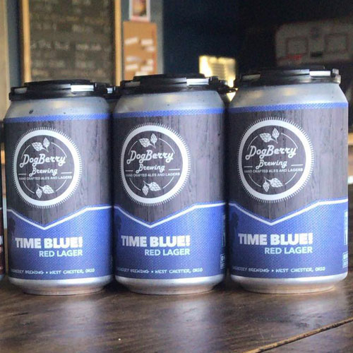 Time Blue Red Lager – Dogberry Brewing