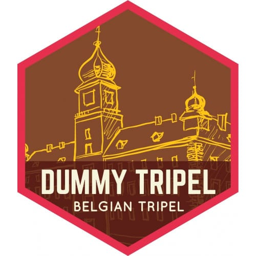 Dummy Tripel – Fibonacci Brewing Company