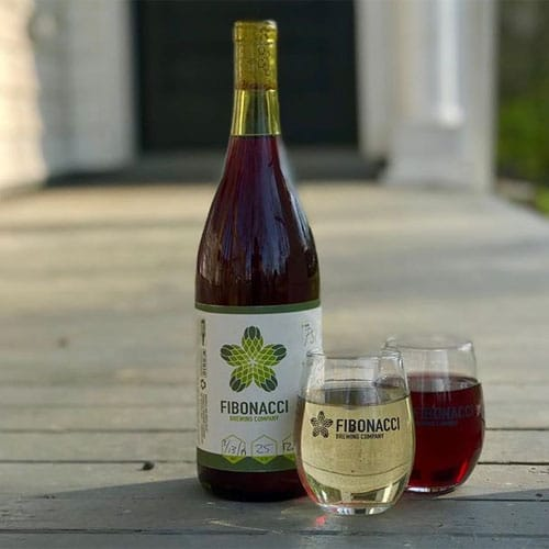 Dummy Tripel Bottle & Glass – Fibonacci Brewing Company