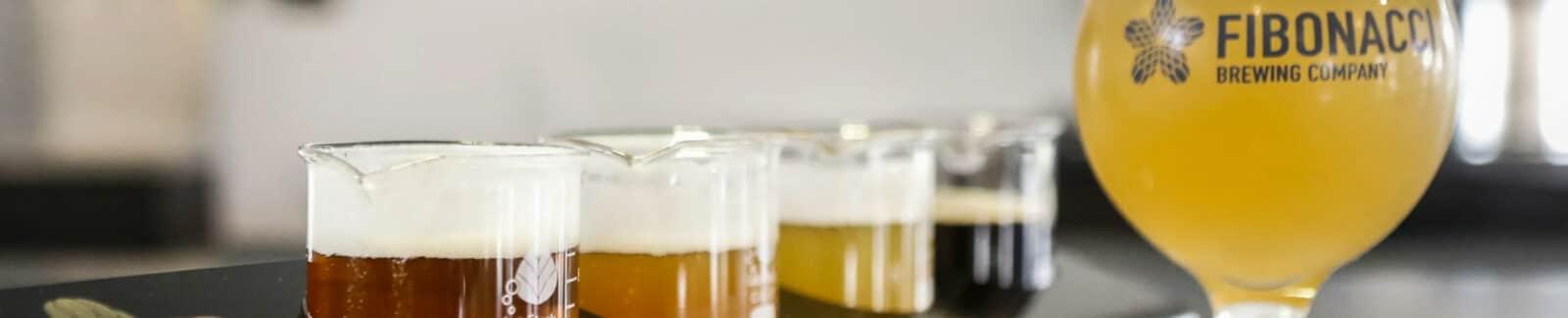Fibonacci Brewing Company header