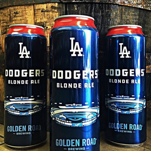 LA Dodgers Blonde Ale – Golden Road Brewing