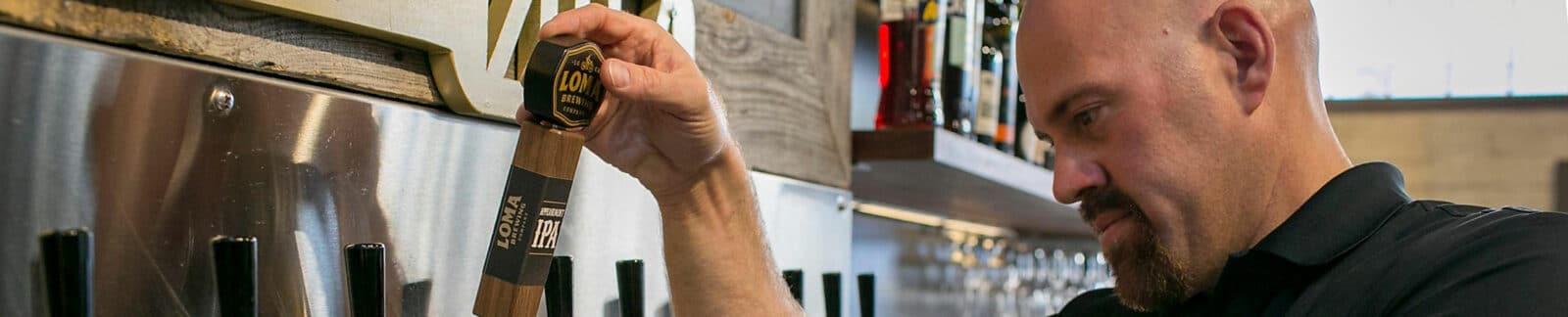 Kevin Youkilis Pouring Greek God of Hops Beer