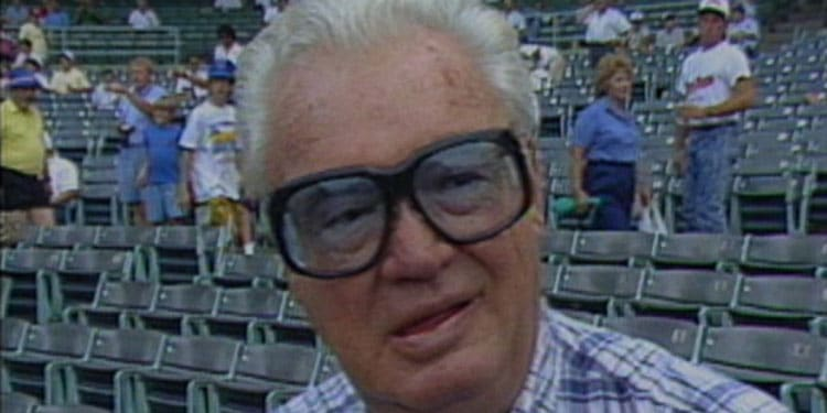 Harry Caray Diary of Drinking Beer