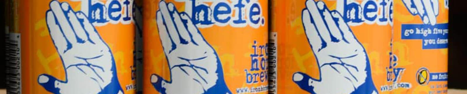 High Five Hefe American Pale Wheat Ale header