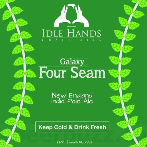 Four Seam New England IPA Label – Idle Hands