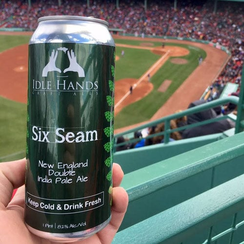 Six Seam New England Double IPA – Idle Hands