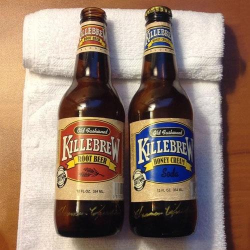 Killebrew Root Beer & Honey Cream Soda