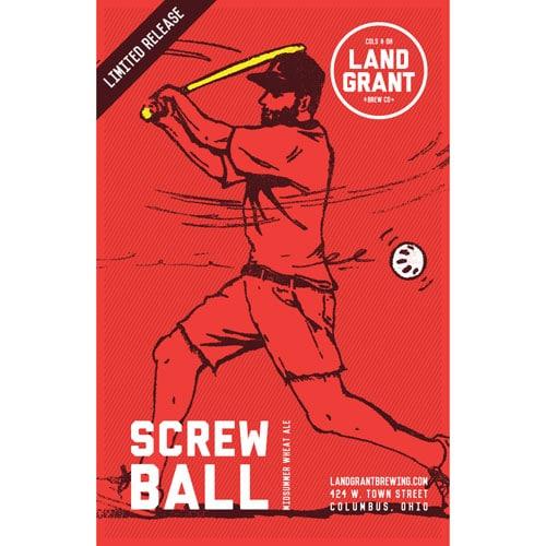 Screwball Midsummer Wheat Ale – Land Grant Brew Co