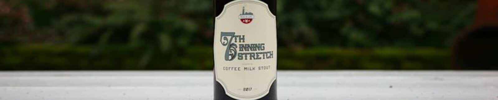 7th Inning Stretch Coffee Milk Stout header