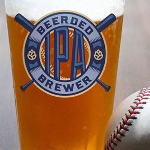 Beerded Brewer IPA for the Milwaukee Brewers