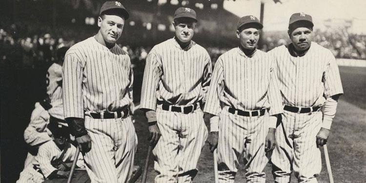 The New York Yankees' Murderer's Row