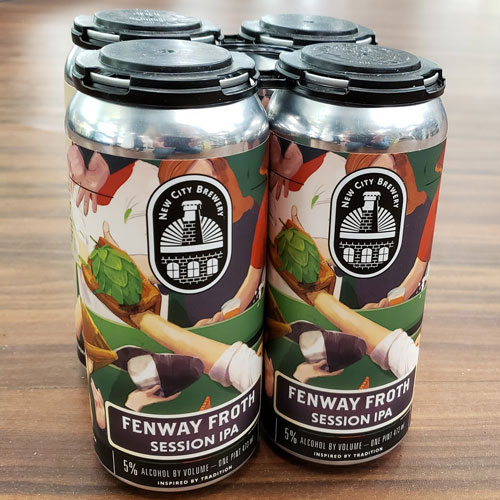 Fenway Froth Session IPA – New City Brewery