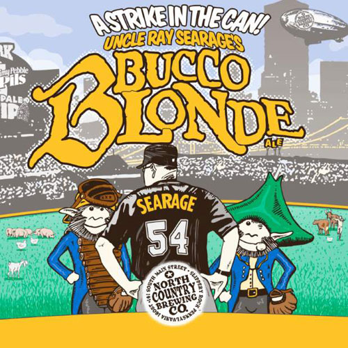 Uncle Ray Searage's Bucco Blonde Ale Label