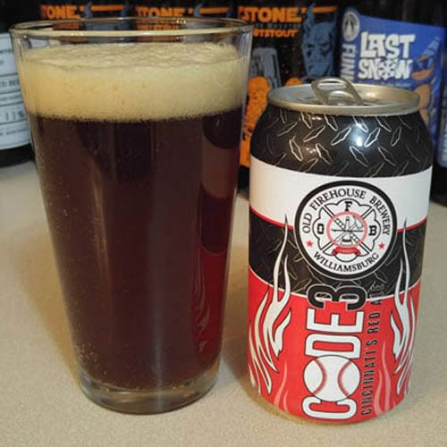Code 3 Red Ale – Old Firehouse Brewery