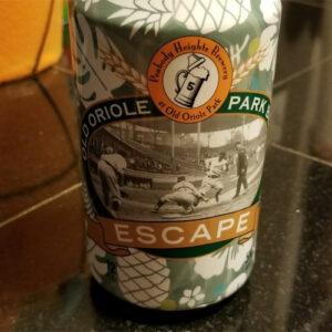 Escape Pale Wheat – Old Oriole Park