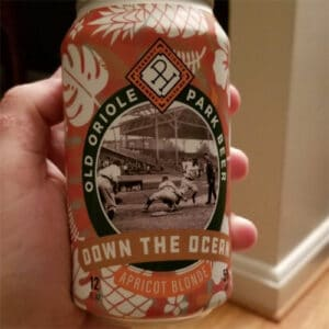 Old Oriole Park Apricot Blonde – Peabody Heights Brewery