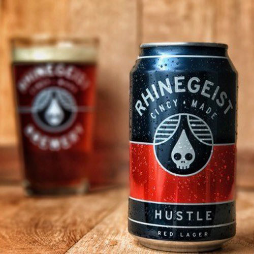 Hustle Red Lager – Rhinegeist Brewery