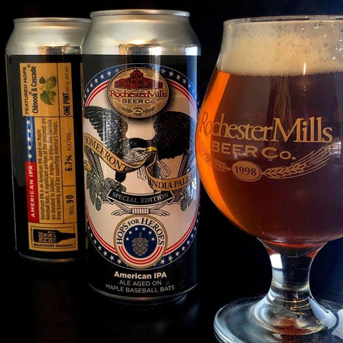 Homefront IPA – Rochester Mills Beer Co.