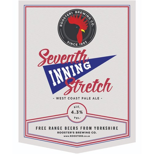 Seventh Inning Stretch West Coast Pale Ale – Rooster's Brewing Co.