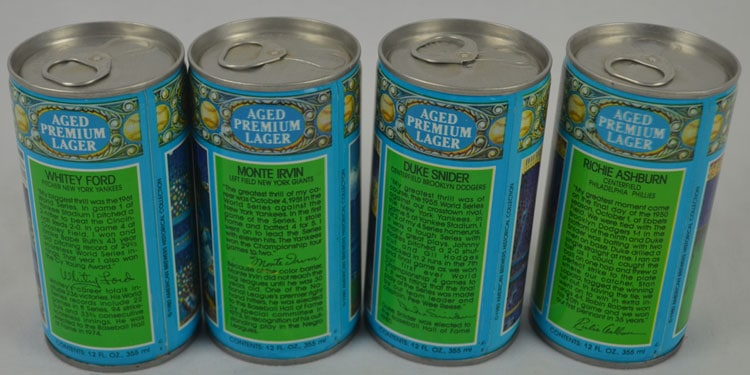 Valley Forge Brewing – Casey's Lager Beer Back Labels