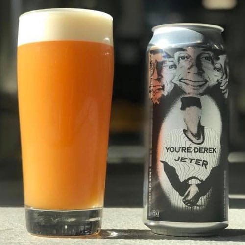 You're Derek Jeter – The Veil Brewing Company