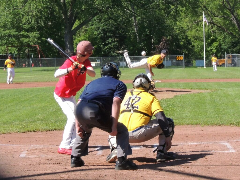 Stingers Baseball Pitching at Winsor Field