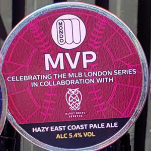 MVP Hazy East Coast Pale Ale – Mondo Brewing