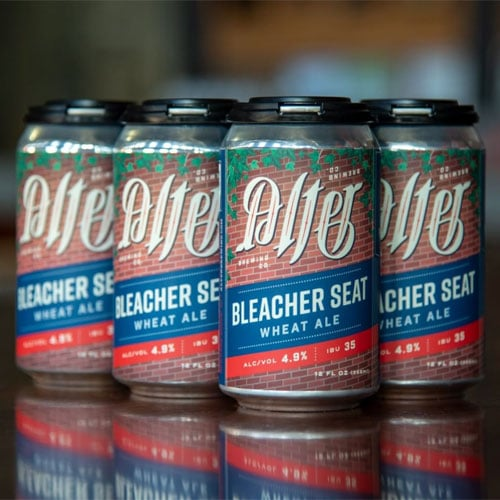 Bleacher Seat Wheat Ale – Alter Brewing