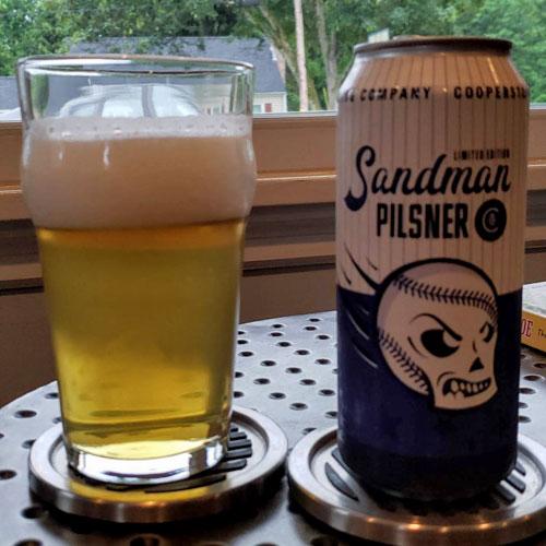 Sandman Pilsner – Cooperstown Brewing Company