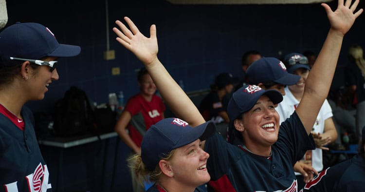 Throw Like a Girl – Team USA