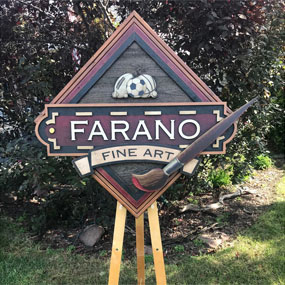 Tim Kuncis – Barnwood Sports – Farano Fine Art