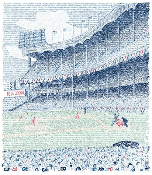 Yankee Stadium – Dan Duffy, Art of Words