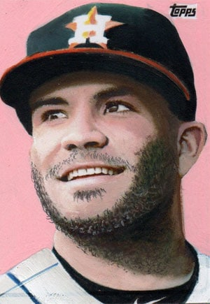 Kevin Graham Art – Jose Altuve