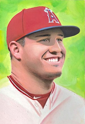 Kevin Graham Art – Mike Trout