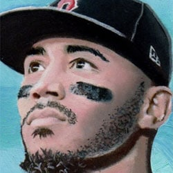 Kevin Graham Art – Mookie Betts header
