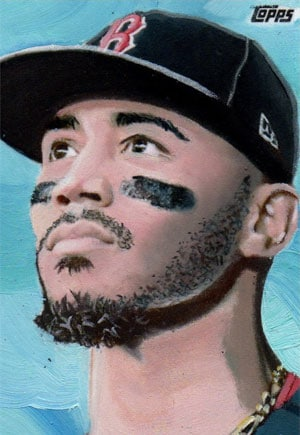 Kevin Graham Art – Mookie Betts