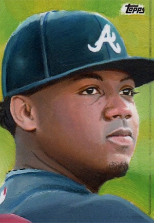Kevin Graham Art – Ronald Acuna, Jr.