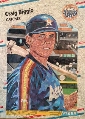 Tim Carroll Art – Craig Biggio