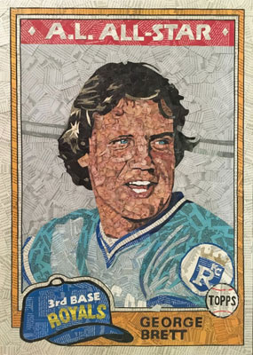 Tim Carroll Art – George Brett