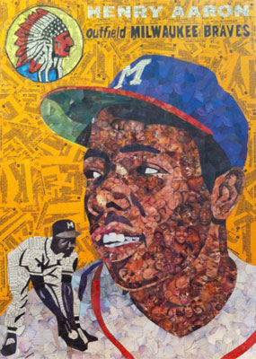 Tim Carroll Art – Hank Aaron