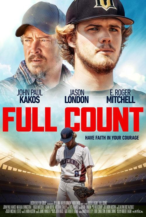 Full Count baseball movie poster