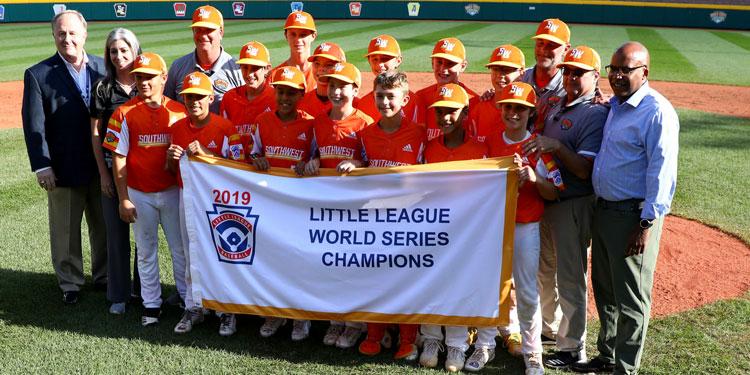 2019 Little League Champions: River Ridge, Louisiana
