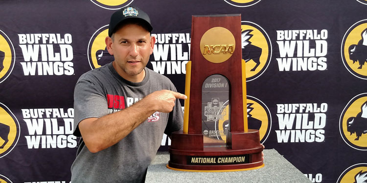 College World Series NCAA Division I National Champion Trophy