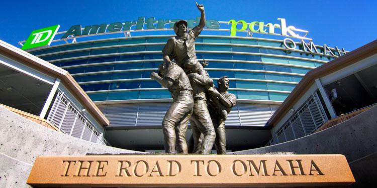 College World Series: Brian O'Connor Monument