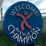 Avenue of Champions Welcome Sign & Logo