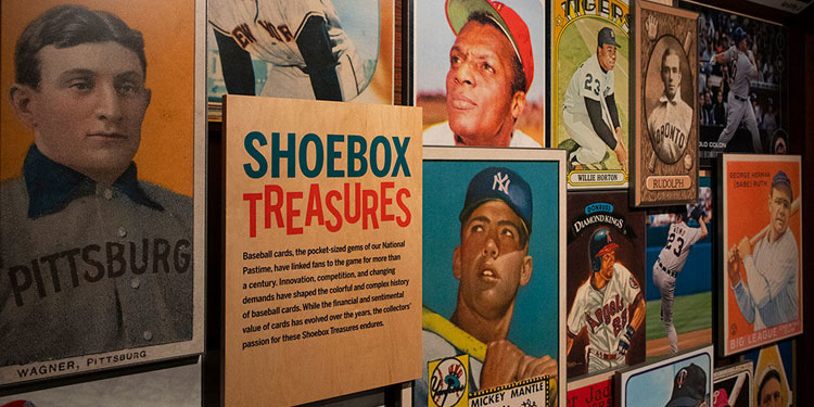Shoebox Treasures at Baseball Hall of Fame