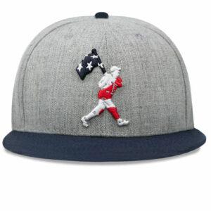 Baseballism: Flag Man Freedom Cap 2.0