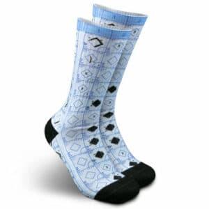 Baseballism: Scorebook Socks
